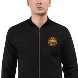 JAGANNATH Bomber Jacket Embroidered
