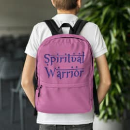 SPIRITUAL WARRIOR backpack