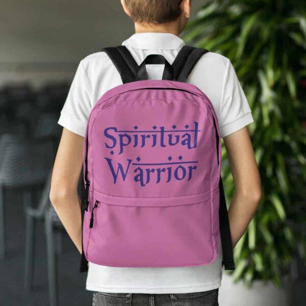 SPIRITUAL WARRIOR backpack