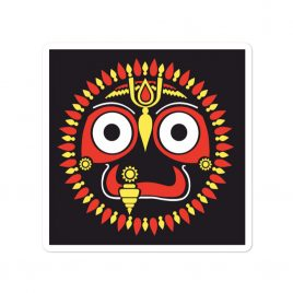Jagannatha Bubble-free sticker