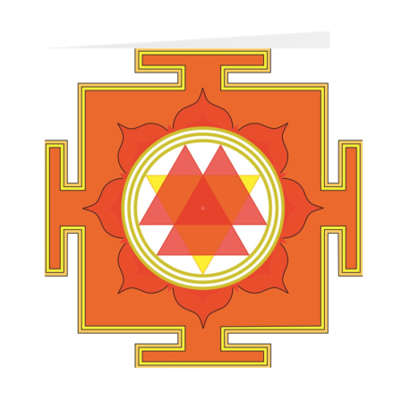 Durga Yantra Folded Cards