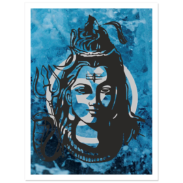 Shiva Om Stickers