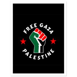 Free Gaza Stickers