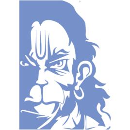 Hanumanji Art Print