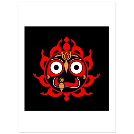 Chakra Jagannath Stickers