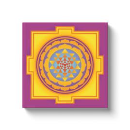 Kali Yantra10 Canvas Wrap