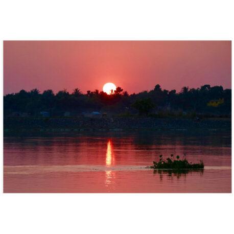 Ganga Sunset Poster