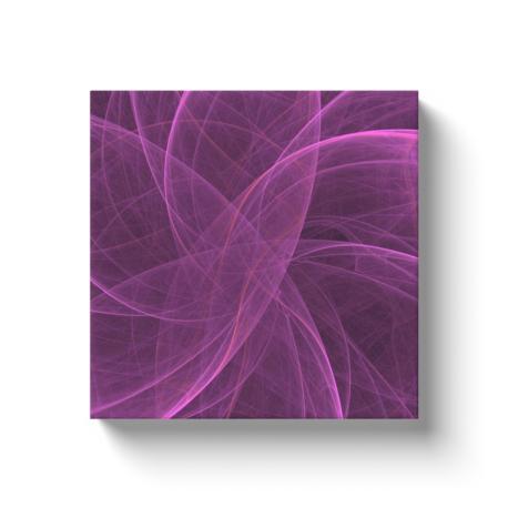 Purple Veil Canvas Wrap