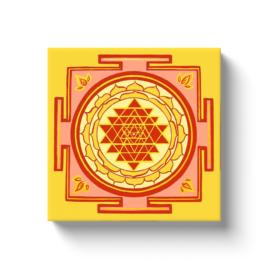 Sri Yantra3 Canvas Wrap