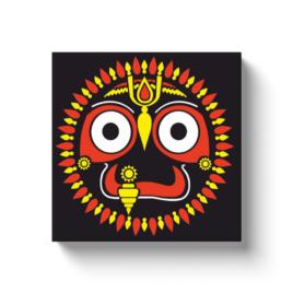 Lord Jagannath Canvas Wrap