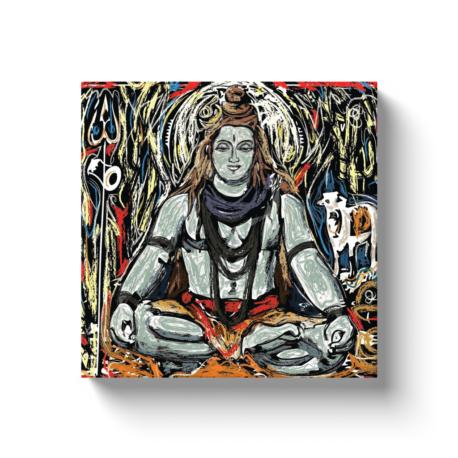 Lord Shiva Canvas Wrap Shiva Canvas Wrap