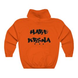 HARE KRSNA (back print) Hooded Sweatshirt