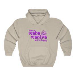 CHANT Maha-Mantra Hooded Sweatshirt