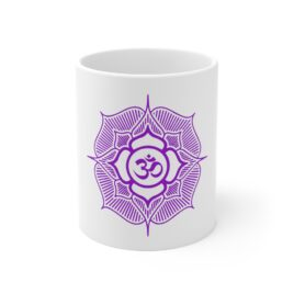 YOGA OM Ceramic Mug 11oz