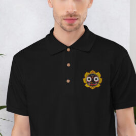 JAGGS ATMA Embroidered Polo Shirt