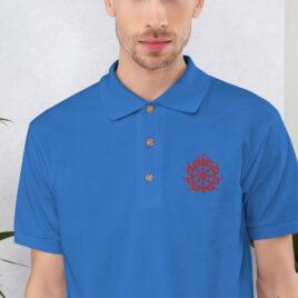 CHAKRA Embroidered Polo Shirt